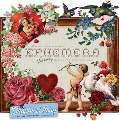 Valentine Ephemera Download Pugly Pixel The Graphics Fairy