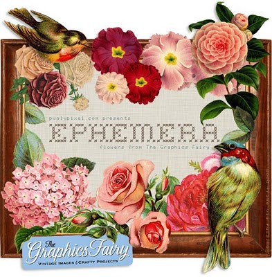 Floral Ephemera Download – By Pugly Pixel