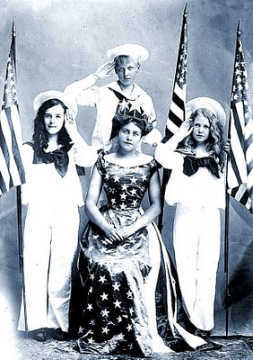 Old Picture Patriotic Queen 4th Of July The Graphics