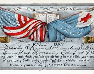 Copyright Free Clip Art – Flags for Rally Day