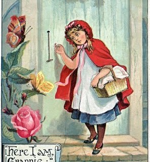 Free Fairy Tale Clip Art – Red Riding Hood