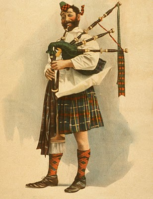 Thursday is Request Day – Bagpipes, Spool of Thread, Pocketwatch, Dinosaur Bones, Fishing