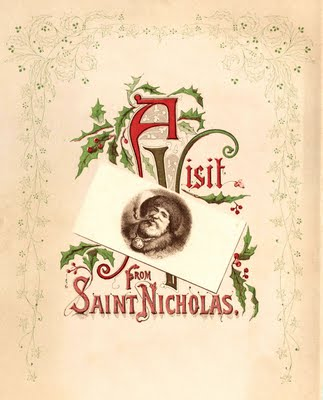 free christmas clip art victorian santa the graphics fairy. Black Bedroom Furniture Sets. Home Design Ideas