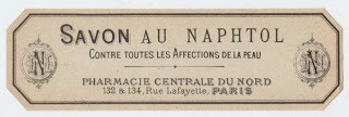 Paris Soap Label