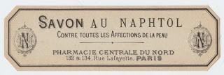 Paris Soap Label