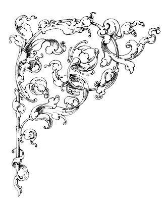Dreamy Romantic Scrolls – Wedding Clip Art