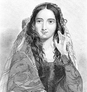 Antique Image – Beautiful Shakespeare Lady – Beatrice