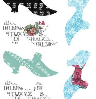 Free Digital Collage Sheet – Ladies Shoes