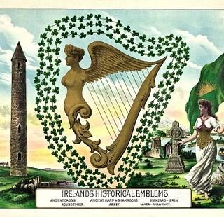 Vintage St Patrick's Day Clip Art