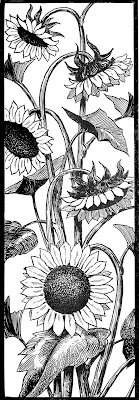 Request Day – Sunflowers, Seahorse, Art Nouveau Frame, Big Ben
