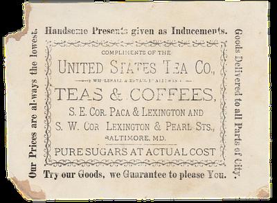 Old Typography – Tea & Coffee