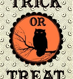 Free Halloween Printable – Trick or Treat Bag Label