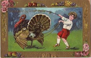 Thanksgiving Postcard – Turkey