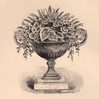 Victorian Garden Clip Art – Wonderful Urn