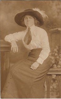 Photo of Woman with Old West Style Hat