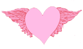 Free Valentine's Day Clip Art – Winged Heart