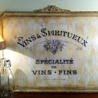 Chalk Paint Wine Sign Annie Sloan
