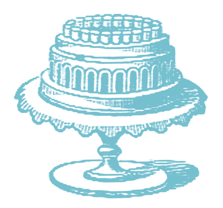 Vintage Images Fancy Cake on Cake Plate  sc 1 st  The Graphics Fairy & Free Vintage Images - Cake on Cake Plate - The Graphics Fairy