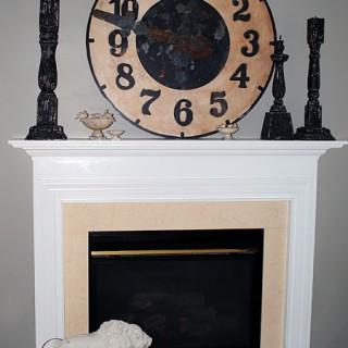 DIY – Updating a Fireplace – No more Brass!