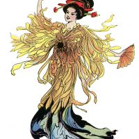 Japanese Flower Fairy Image