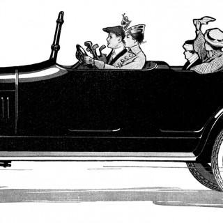 Old Fashioned Car Image – Vintage