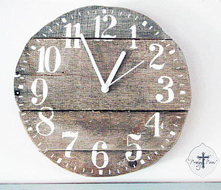 Diy Pallet Wood Clock Reader Featured Project The