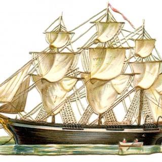 Vintage Image – Beautiful Ship