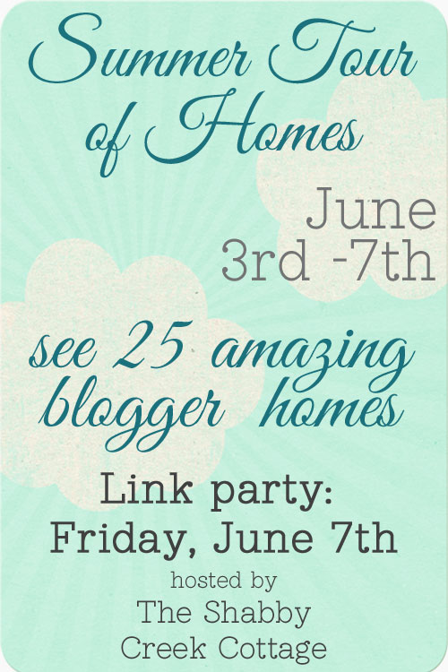Summer Tour of Homes Decorating