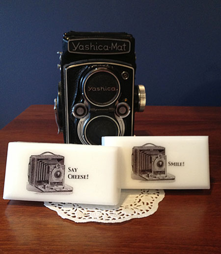 Vintage Image Soap Project Camera