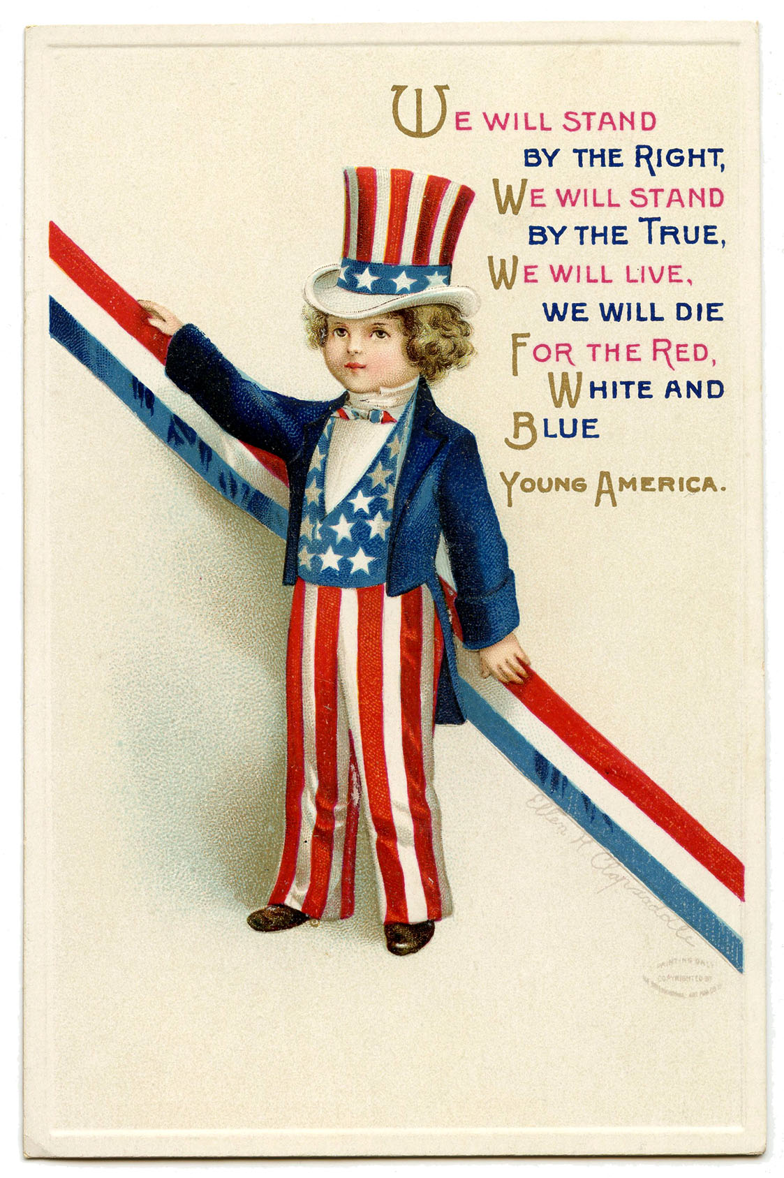 Vintage Uncle Sam Image Patriotic