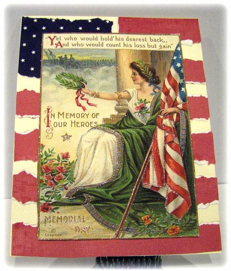 Patriotic Handmade Card