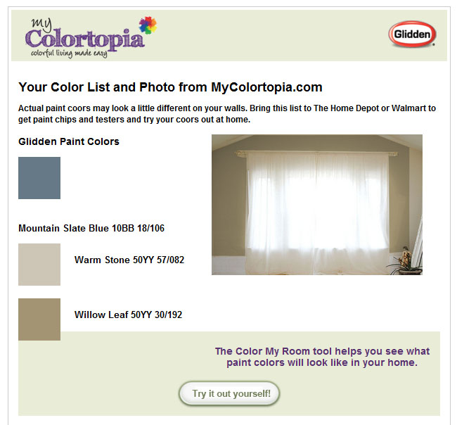 Finding Paint Colors In Our Home: Master Bath Paint Colors
