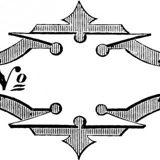 Antique Graphic Label