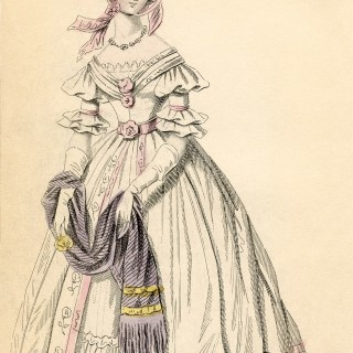 Antique London Fashion Image