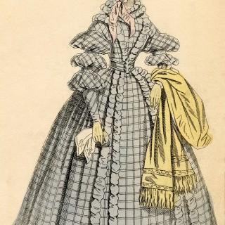 Free Antique Fashion Image – London Promenade