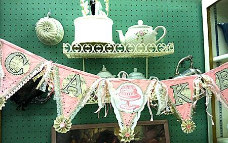 Cake Pennant Banner
