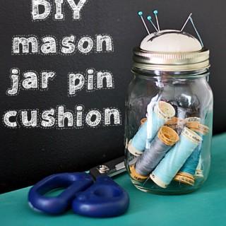Tin Can Craft Project Pin Cushion