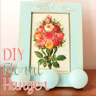 Floral Hanger DIY