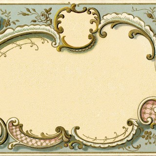 Spectacular French Graphic Frame Image