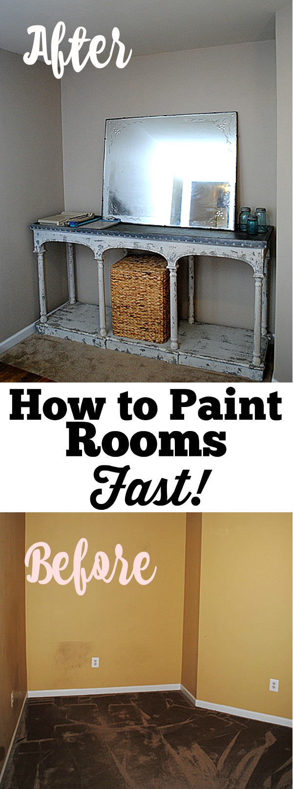 How To Paint A Room Fast Graphicsfairy The Graphics Fairy