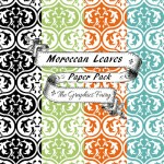 Moroccan-Leaves-Digital-Papers-GraphicsFairy2