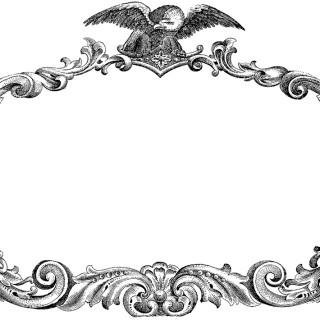 Public Domain Patriotic Label