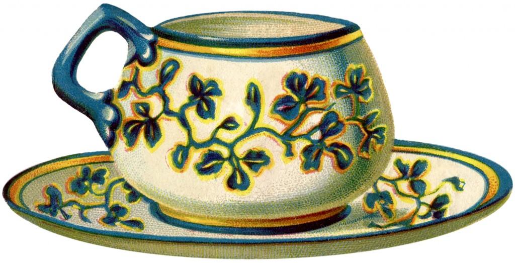 Vintage Teacup Image