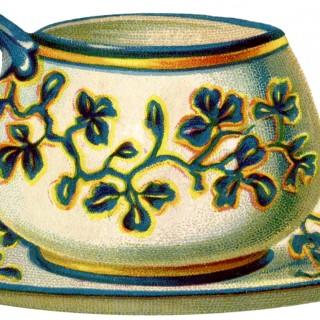 Charming Vintage Teacup Image