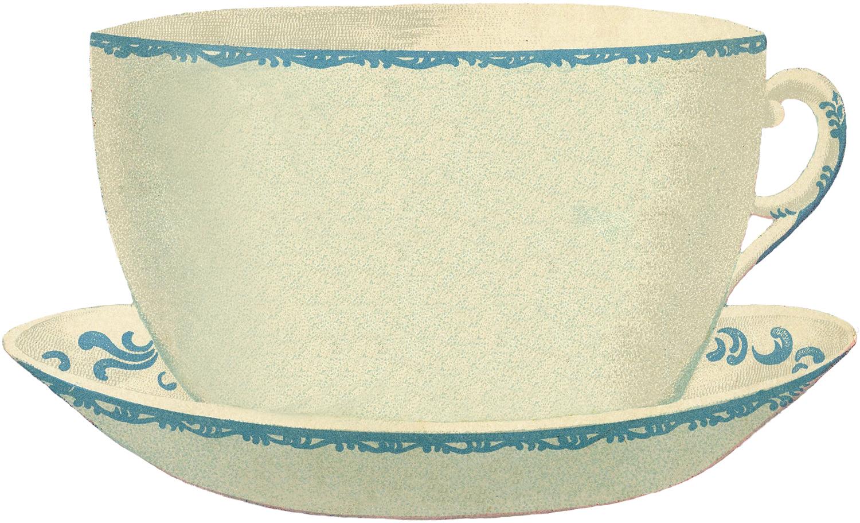 Antique Teacup Image