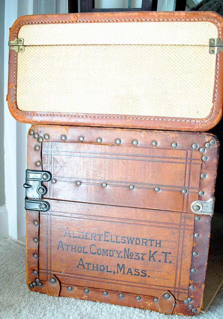 Vintage Suitcases Fall decor