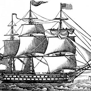 Free Ship Clip Art – Old