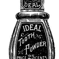 Free Vintage Images Old Bottles Toothpaste