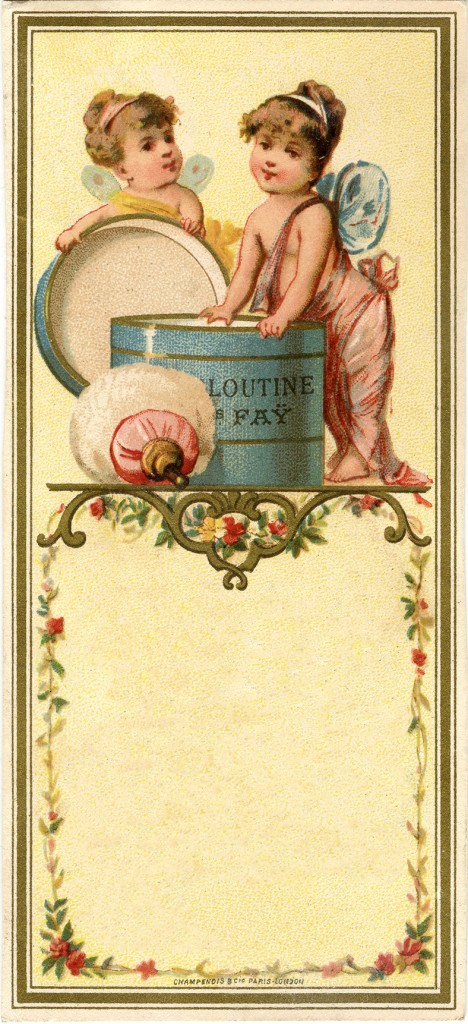 French Fairy Label