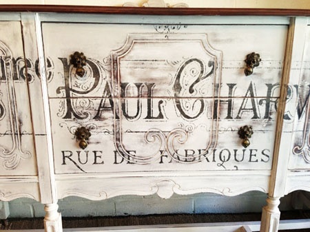 French Typography Buffet